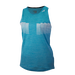 MELANGE  SWING TANK WOMEN Fair Aqua