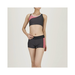 Aqua Fitness Separates (Inseam 8cm) for WOMEN Charcoal