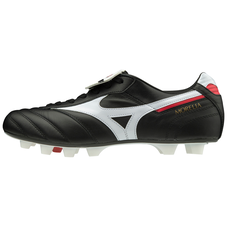 MORELIA II JAPAN (FLAP TONGUE) Black / White / Chinese Red