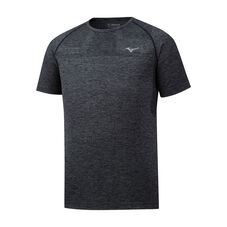 Helix Seamless Tee Men Black
