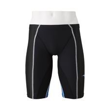 FX / SONIC + HALF SPATS FOR COMPETITIVE SWIMMING MEN Black x Turquoise