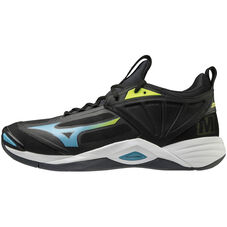 WAVE MOMENTUM 2 UNISEX Black / Blue Atoll / Safety Yellow