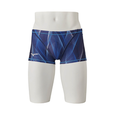 SHORT SPATS FOR SWIMMING PRACTICE MEN Aurora Blue