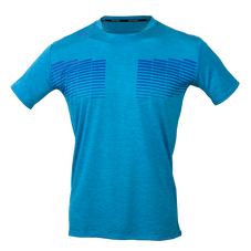 MELANGE SHORT SLEEVE T-SHIRT MEN Dive Blue