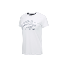 RUNNING-PACK SHORT SLEEVE WOMEN White