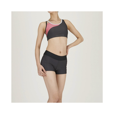 Aqua Fitness Separates (Inseam 8cm) for WOMEN Charcoal