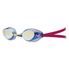 ACCELERATOR EYE SWIMMING GOGGLES (CUSHION TYPE) UNISEX Blue / Yellow Mirror