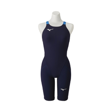 MX / SONIC α half suit for swimming  WOMEN Aurora Blue