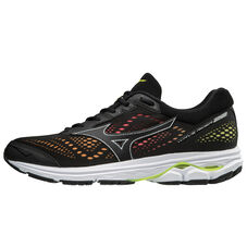 WAVE RIDER 22 OSAKA MEN BLACK/BLACK/SAFETY YELLOW