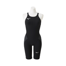 MX / SONIC α half suit for swimming WOMEN Black x Charcoal