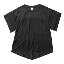 Mesh Tee shirt Women Black