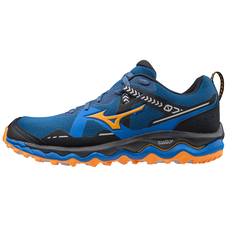 WAVE MUJIN 7 MEN Princess Blue / Lunar Rock / Flame Orange