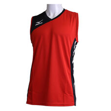Game Jersey_Volleyball Men Chinese Red