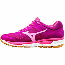 MIZUNO SYNCHRO MX 2 WOMEN  Sangria / Flamingo Pink / Spruce Yellow