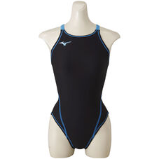 EXER SUITS Women - SWIMWEAR FOR PRACTICE BLACK X LIGHT BLUE