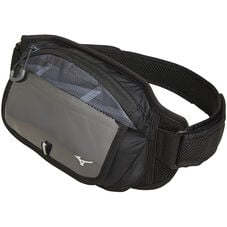 Waist pouch M for running BLACK×GRAY