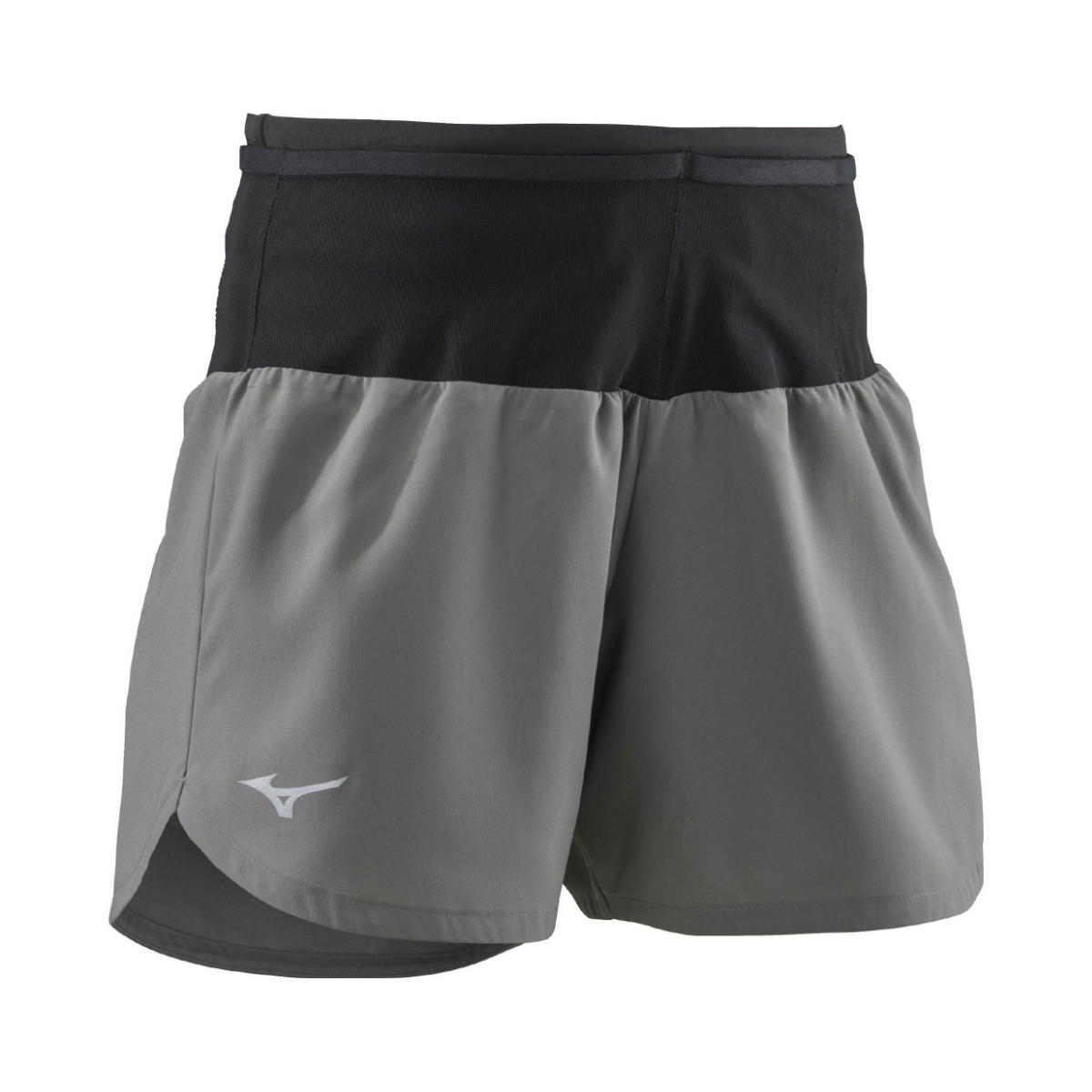 Running Multi Pocket Short WOMEN Charcoal