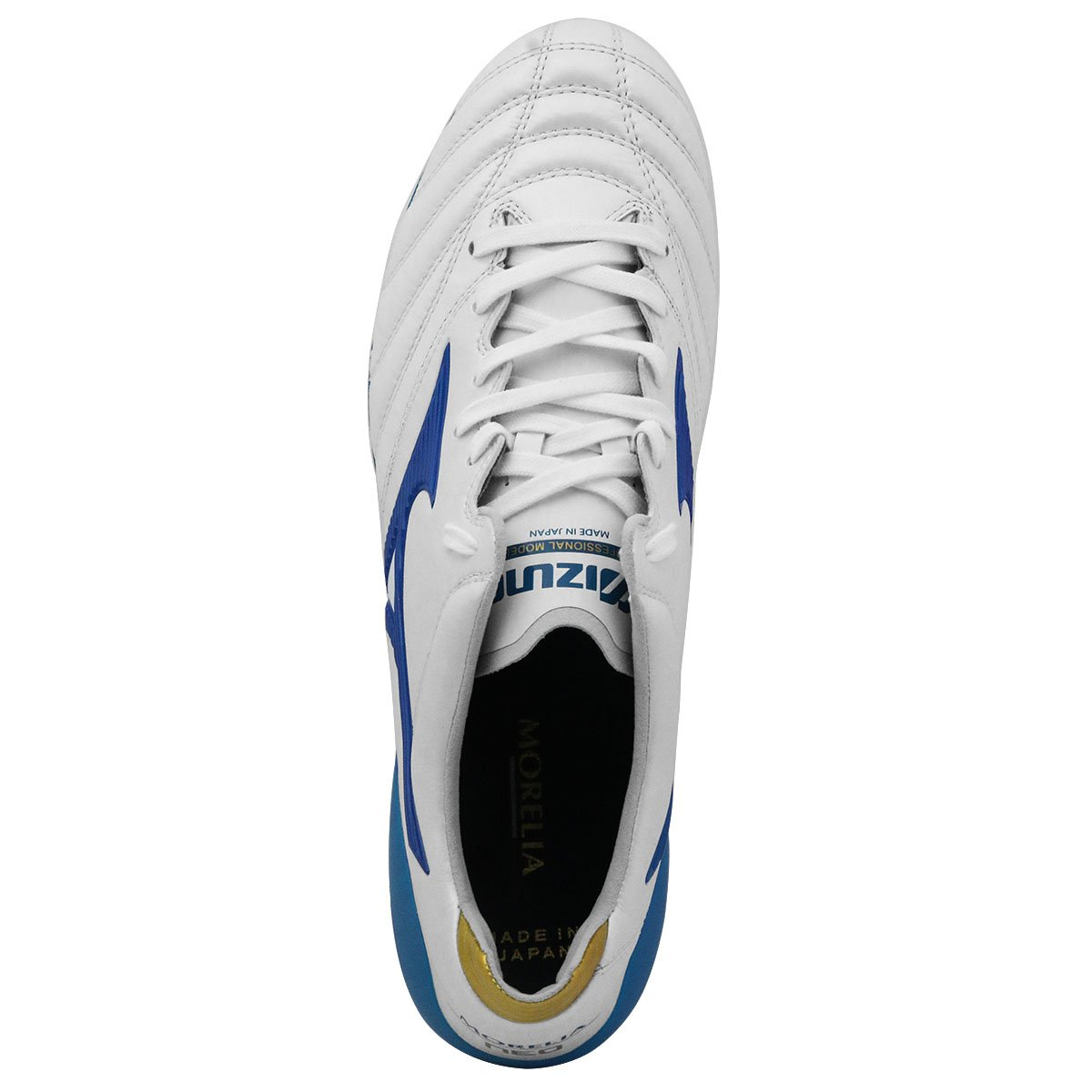 MORELIA NEO II JAPAN White/ Wave Cup Blue/ Cyber Yellow