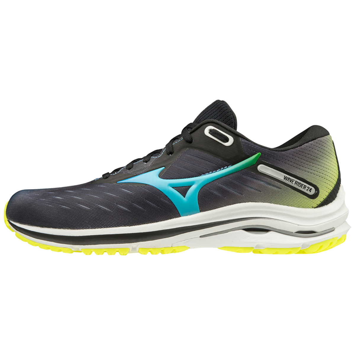WAVE RIDER 24 UNISEX Black / Blue Atoll / Safety Yellow